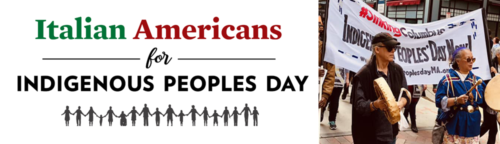 Italian Americans for Indigenous Peoples Day